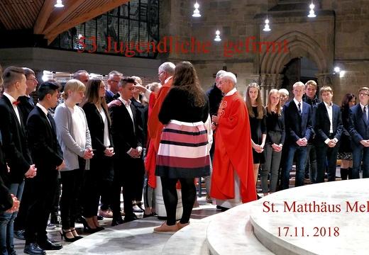 Firmung in St. Matthäus Melle - Auf der Suche nach dem Heiligen Geist