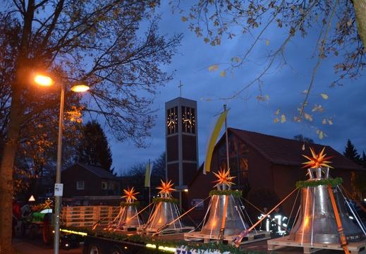 Neue Glocken für die ev. Martinikirche in Buer 01.12.2018