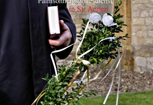 Palmsonntagsgottesdienst in St. Annen