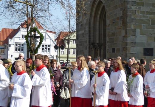 Palmsonntag mit Parallelgottesdienst St. Matthäus 14.04.2019