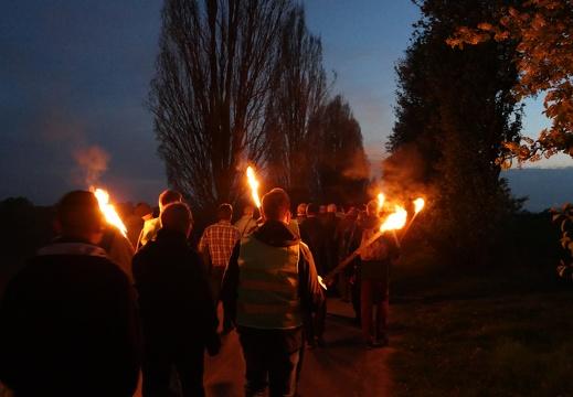 Männer-Nachtwanderung Dekanat Osnabrück Süd 18.04.2019