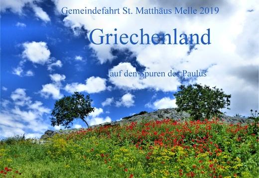 Gemeindefahrt St. Matthäus Melle 2019 Griechenland