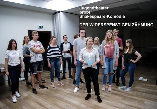 Jugendtheater St. Matthäus probt