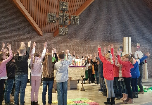 Vorstellungsgottesdienst der Erstkommunionkinder in St. Matthäus Melle Mitte, 26.01.2020