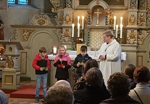 Vorstellungsgottesdienst der Erstkommunionkinder in St. Anna, 08.02.2020