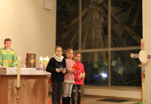 Vorstellungsgottesdienst der Erstkommunionkinder in St. Marien Buer, 08.02.2020