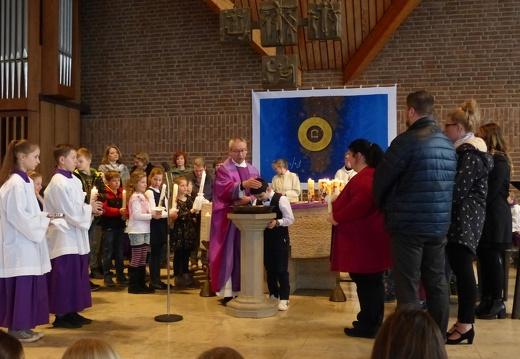 Tauferneuerung Erstkommunionkinder 08.03.2020
