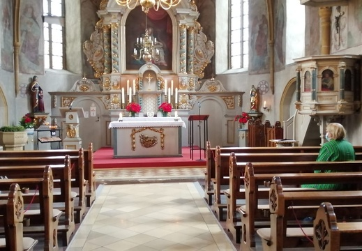 1. Wort Gottes Feier unter Corona-Hygiene-Bedingungen in St. Annen  27.06.2020