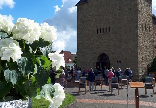 Open-Air Messe in Sondermühlen 12. Juli 2020