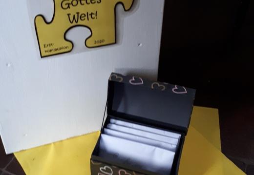 KoKi-Kisten für die Erstkommunionkinder