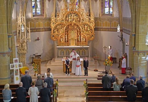 Erstkommunion St. Johann / Riemsloh + St. Anna T St. Annen 30.08.2020