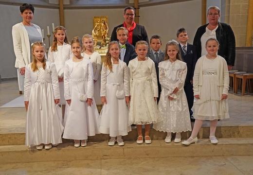 Erstkommunion des Gemeindeteils St. Marien Buer in der Kirche St. Matthäus in Melle 27.09.2020