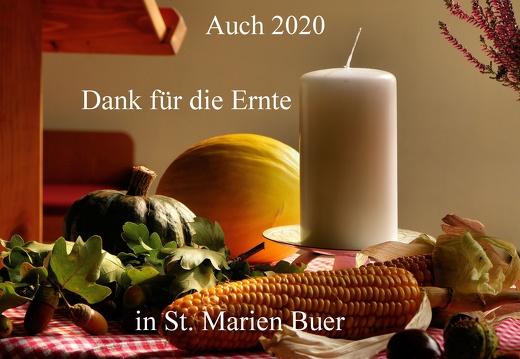 Erntedank in St. Marien Buer 2020