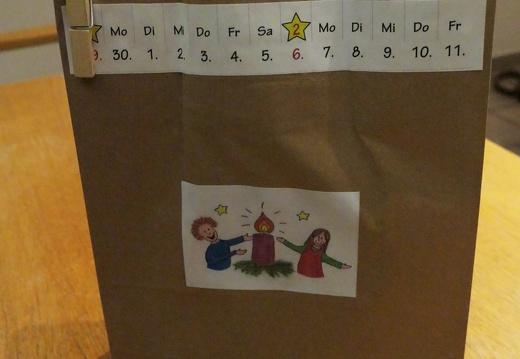 Adventstüten für Kinder - Aktion des Parallelgottesdienstkreises 23.11.2020