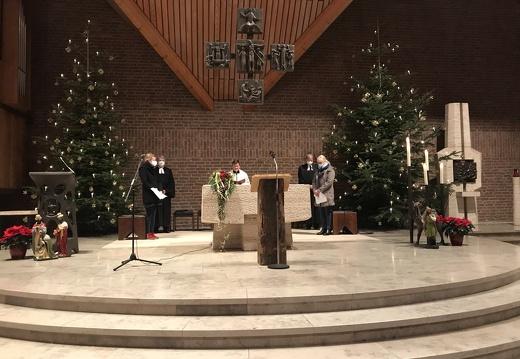 ökumenischer Neujahrs-Gottesdienst (01.01.2021) Melle